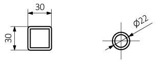 Πετσετοκρεμάστρα TERMA ALEX τεχνικά χαρακτηριστικά.