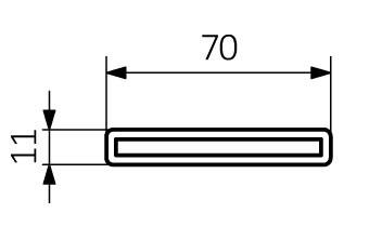 Θερμαντικό Σώμα TERMA Aero-HG - Τεχνικά Χαρακτηριστικά