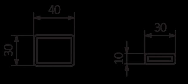 Θερμαντικό σώμα TERMA Case Slim - Τεχνικά χαρακτηριστικά.