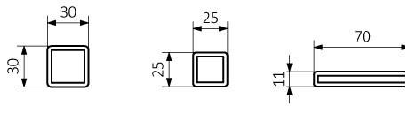 Θερμαντικό σώμα TERMA Cyklon H - Τεχνικά Χαρακτηριστικά