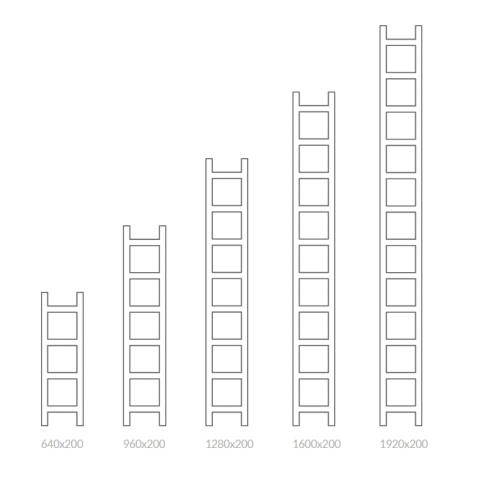 Θερμαντικό Σώμα / Πετσετοκρεμάστρα TERMA Easy - Τεχνικά Χαρακτηριστικά