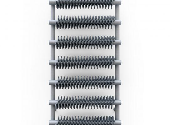 Θερμαντικό Σώμα/Πετσετοκρεμάστρα Ribbon T