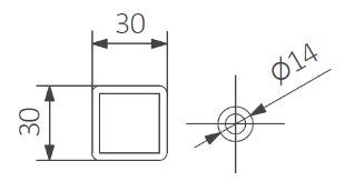 Πετσετοκρεμάστρα TERMA Fiona One - Τεχνικά Χαρακτηριστικά