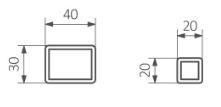 Θερμαντικό Σώμα TERMA Intra - Τεχνικά Χαρακτηριστικά