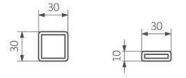 Πετσετοκρεμάστρα TERMA Kioto - Τεχνικά Χαρακτηριστικά