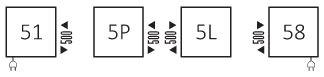 Πετσετοκρεμάστρα TERMA Lima - Συνδέσεις