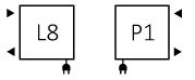 Πετσετοκρεμάστρα TERMA Lima One - Συνδέσεις