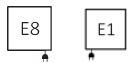 Πετσετοκρεμάστρα TERMA Lukka - Συνδέσεις