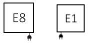 Πετσετοκρεμάστρα TERMA Mantis One - Συνδέσεις