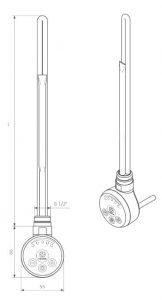 Θερμοστάτης & Θερμική Αντίσταση TERMA MEG - Τεχνικά Χαρακτηριστικά