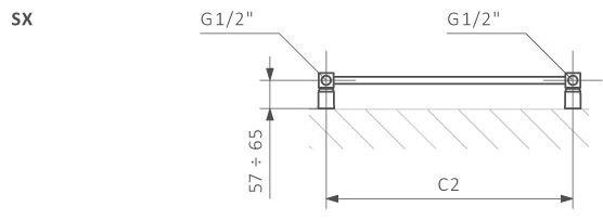 Πετσετοκρεμάστρα TERMA Mike - Τεχνικά Χαρακτηριστικά