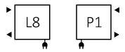 Πετσετοκρεμάστρα TERMA Mike One - Συνδέσεις
