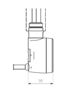 Θερμοστάτης & Θερμική Αντίσταση TERMA MOA Blue