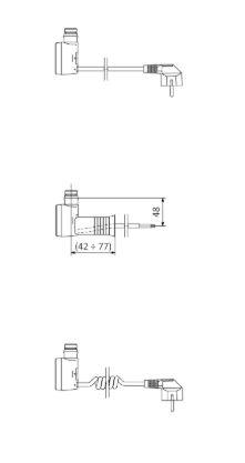 Θερμοστάτης & Θερμική Αντίσταση TERMA MOA IR - Τεχνικά Χαρακτηριστικά