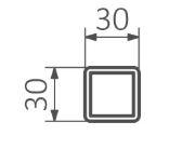 Θερμοστάτης & Θερμική Αντίσταση TERMA ONE K 30x30 - Τεχνικά Χαρακτηριστικά