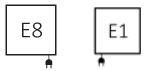 Πετσετοκρεμάστρα TERMA Outcorner - Συνδέσεις