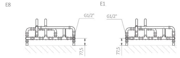 Θερμαντικό Σώμα TERMA Pajake -Τεχνικά Χαρακτηριστικά