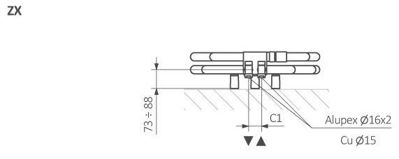 Θερμαντικό Σώμα / Πετσετοκρεμάστρα TERMA Perla -Τεχνικά Χαρακτηριστικά