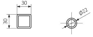 Θερμαντικό Σώμα / Πετσετοκρεμάστρα TERMA Pola One - Τεχνικά Χαρακτηριστικά