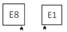 Θερμαντικό Σώμα / Πετσετοκρεμάστρα TERMA Quadrus Slim - Συνδέσεις