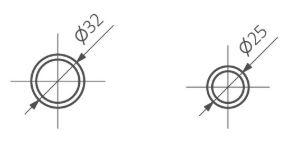 Θερμαντικό Σώμα / Πετσετοκρεμάστρα TERMA Retro S - Τεχνικά Χαρακτηριστικά