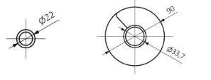 Θερμαντικό Σώμα TERMA Ribbon HWS - Τεχνικά Χαρακτηριστικά