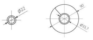 Θερμαντικό Σώμα TERMA Ribbon V - Τεχνικά Χαρακτηριστικά