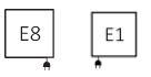 Θερμαντικό Σώμα TERMA Ribbon V E - Συνδέσεις