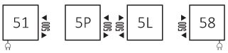 Θερμαντικό Σώμα / Πετσετοκρεμάστρα TERMA Simple - Συνδέσεις