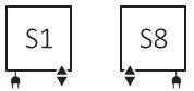 Θερμαντικό Σώμα / Πετσετοκρεμάστρα TERMA Simple One - Συνδέσεις