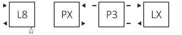 Θερμαντικό Σώμα / Πετσετοκρεμάστρα TERMA Stand - Συνδέσεις