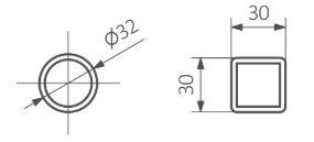 Θερμαντικό Σώμα TERMA Triga AN - Τεχνικά Χαρακτηριστικά