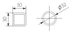 Θερμαντικό Σώμα TERMA Triga AN E - Τεχνικά Χαρακτηριστικά