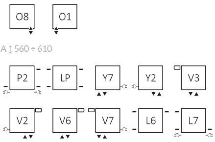 Θερμαντικό Σώμα TERMA Triga - Συνδέσεις