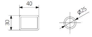 Θερμαντικό Σώμα TERMA Triga E - Τεχνικά Χαρακτηριστικά