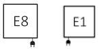 Θερμαντικό Σώμα TERMA Triga M E - Συνδέσεις