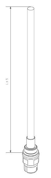 Θερμική Αντίσταση TERMA TS1 (Split) - Τεχνικά Χαρακτηριστικά