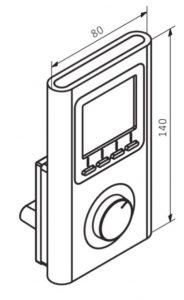 Θερμοστάτης & Θερμική Αντίσταση TERMA TT IR - Τεχνικά Χαρακτηριστικά