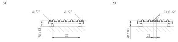 Θερμαντικό Σώμα TERMA Tune VWS - Τεχνικά Χαρακτηριστικά