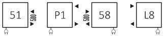 Πετσετοκρεμάστρα TERMA Tytus One - Συνδέσεις