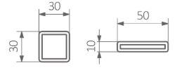 Πετσετοκρεμάστρα TERMA Warp T Bold - Τεχνικά Χαρακτηριστικά