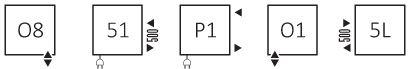 Πετσετοκρεμάστρα TERMA Warp T - Συνδέσεις