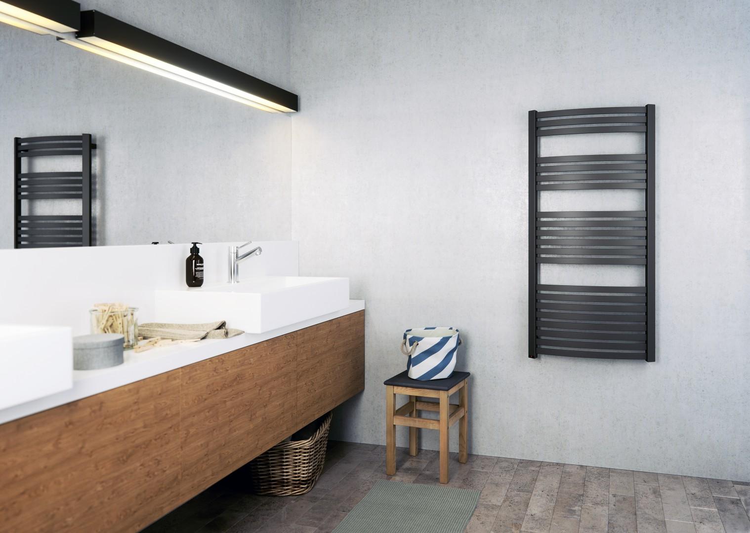 TERMA DEXTER, 1220x600, Χρώμα: METALLIC BLACK.