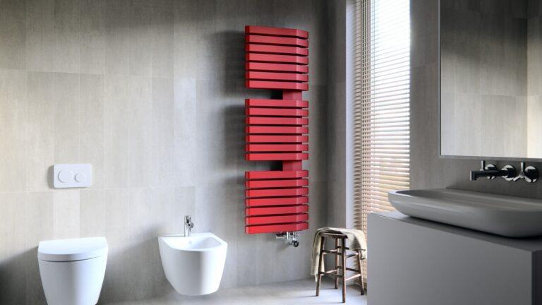 TERMA IRON S, 1510x500, Χρώμα: METALLIC RED.
